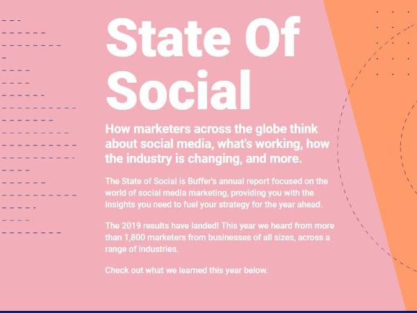 State of Social Media 2019