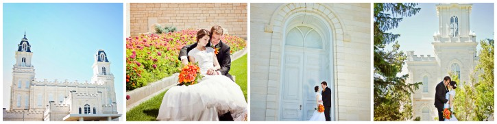 manti lds temple wedding