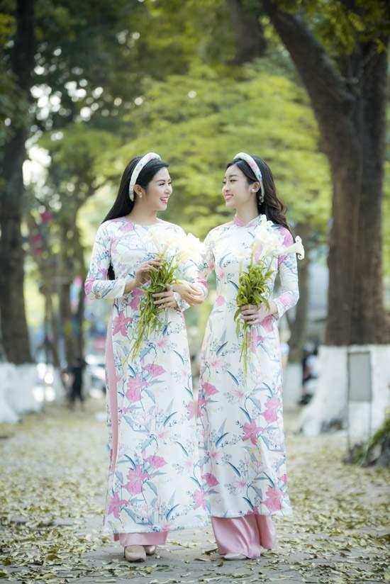 Đỗ Mỹ Linh làm nàng thơ của Ngọc Hân trong bộ sưu tập áo dài - Ảnh 3
