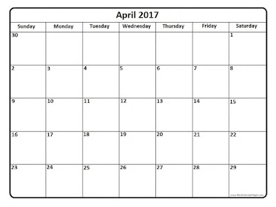 April  2017 calendar  templates,  April 2017 Calendar Printable , April 2017 holidays calendar, April 2017  blank calendars, April 2017 Calender,
