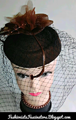 Brown fascinator hats for sale in Kenya