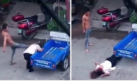 Χτυπούσε τη γυναίκα του ασταμάτητα στο πρόσωπο και στο σώμα! Για κακή του τύχη όμως…