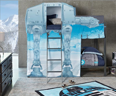 Starwars AT-AT Walker Twin Bunk Bed
