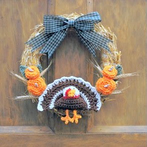 Free Fall & Thanksgiving Wreaths Crochet Patterns