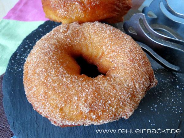 Zimtzucker-Donuts | Foodblog rehlein backt
