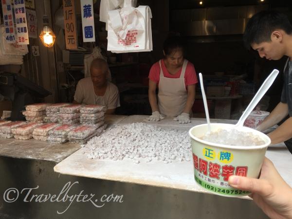 Grandma Lai's JiuFen Taro Ball