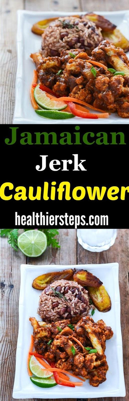 Jamaican Jerk Cauliflower