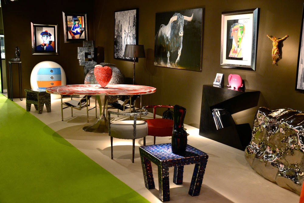 PARIS : LA GALERIE LE FLOCH PRÉSENTE CAPTON AU SALON ANTIQUAIRES & ART CONTEMPORAIN AVENUE FOCH