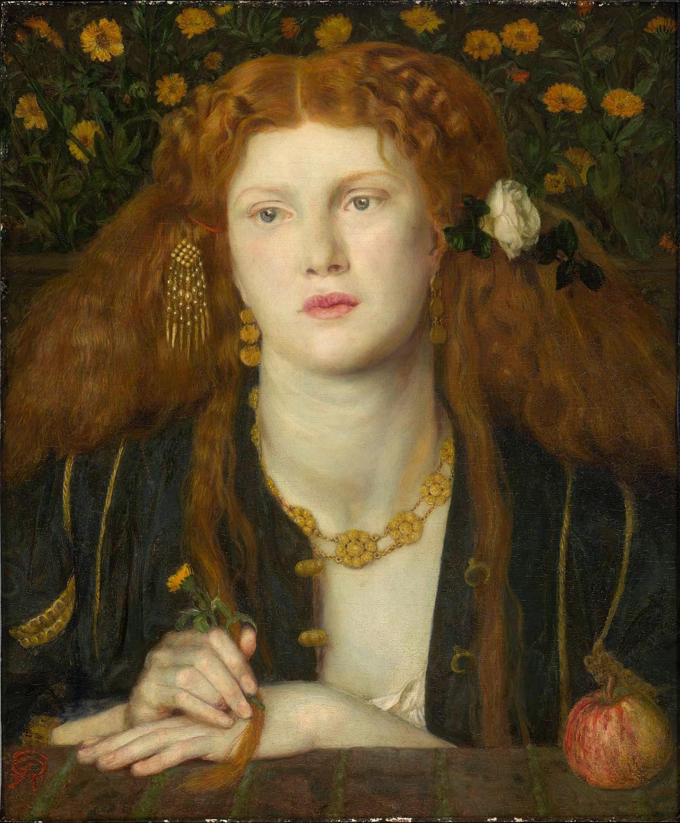 Dante Gabriel Rossetti - Fanny Cornforth - Bocca Baciatta - Museum Fine Arts Boston