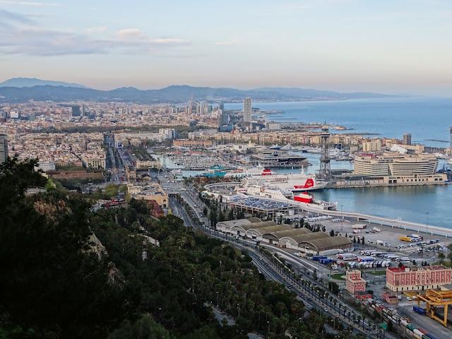 Atrakcje Barcelony - wzgórze Montjuic