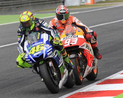 Marquez Harus Tunggu Rossi