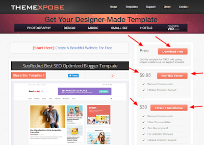 Blogger / Blog me custom theme kaise upload kare in hindi