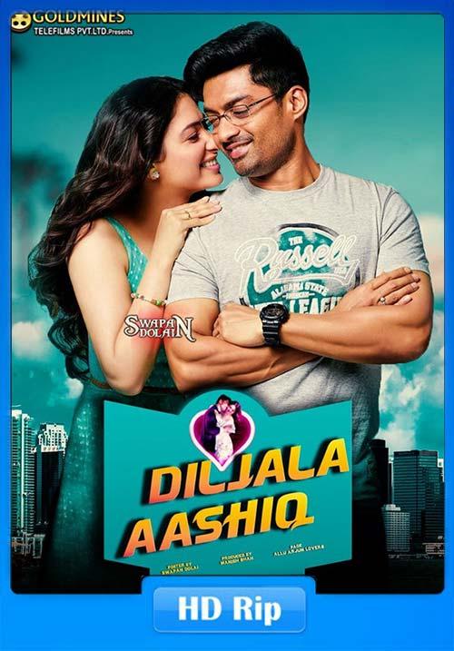 Diljala Aashiq Naa Nuvve 2020 Hindi Dubbed 720p HDRip x264 | 480p 300MB | 100MB HEVC