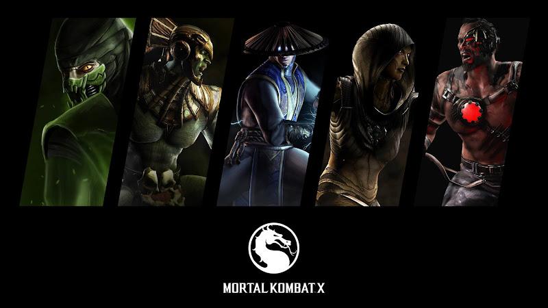 Characters from Mortal Kombat X 2015 HD