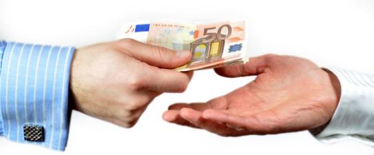 Euros y prestamo