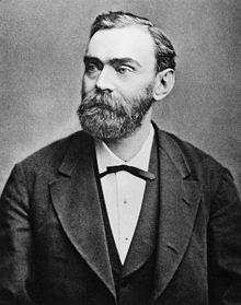 Alfred Nobel, inventor de la dinamita
