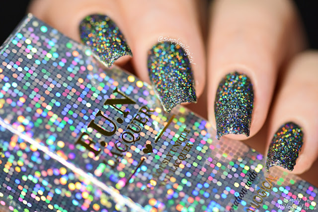 Drown Yourself In 100 Black Holographic Glitters A Clear Base Jk Don T The Witch Or Burn Your Choice