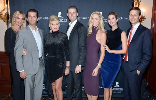 Donald trump family pics, Us president family photo