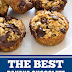 The Best Banana Chocolate Oatmeal Muffins #healthybreakfast #muffins