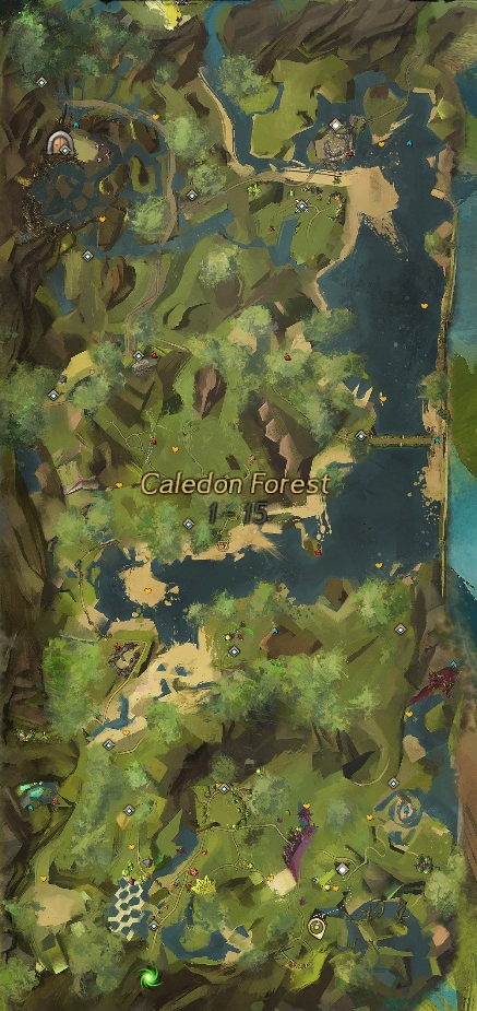 Caledon Forest Hero Points : caledon, forest, points, Exploring, Tyria: