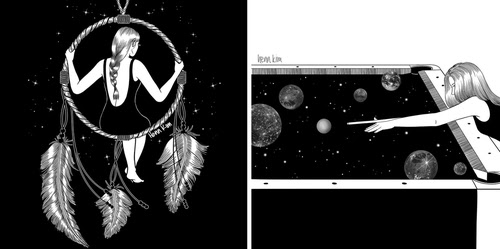 00-Henn-Kim-Surrealism-Black-and-White-Symbolic-Illustrations-www-designstack-co