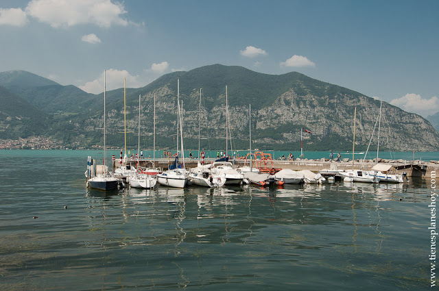 Lago Iseo viaje Italia turismo baño