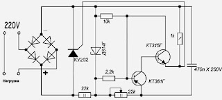 diy scr voltage regulator
