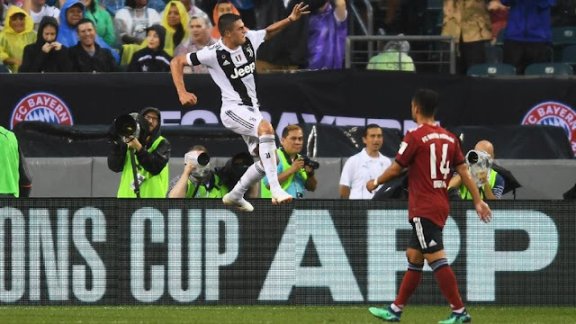 ICC 2018: Juventus Kalahkan Bayern 2-0