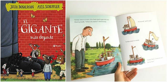 mejores cuentos infantiles 3 a 5 años, libros recomendados gigante mas elegante donaldson