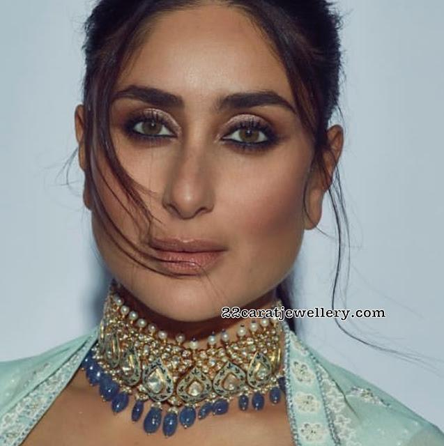 Kareena Kapoor Meena Work Choker
