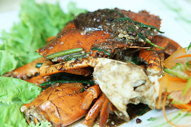 Singapore Blogger # Crab Party