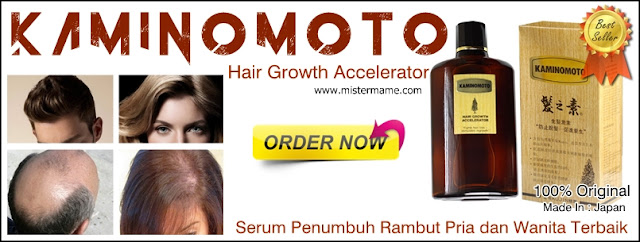 Kaminomoto Hair Growth Accelerator Serum Penumbuh Rambut Pria dan Wanita Terbaik