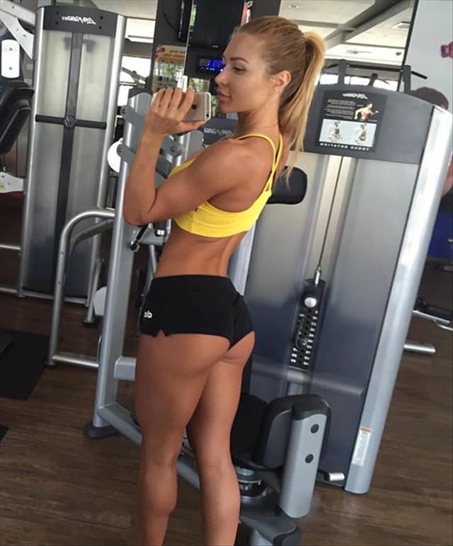 Fitness Model Ekaterina Usmanova