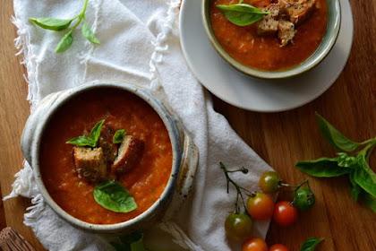 Homegrown Tomato Soup