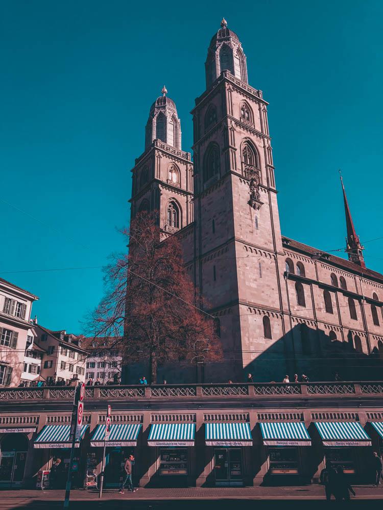 zurich - blog voyage - laquotidiennedele - grossmunster