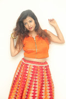 Shubhangi Bant in Orange Lehenga Choli Stunning Beauty ~  Exclusive Celebrities Galleries 080.JPG