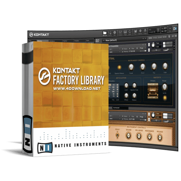 Native Instruments Kontakt Factory Library