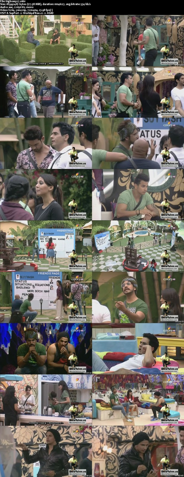 Bigg boss season 8 day 36 27th october - Tommy and tuppence full