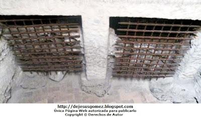 Foto a los calabozos o celdas subterráneos dento del Museo de la Inquisición de Jesus Gómez