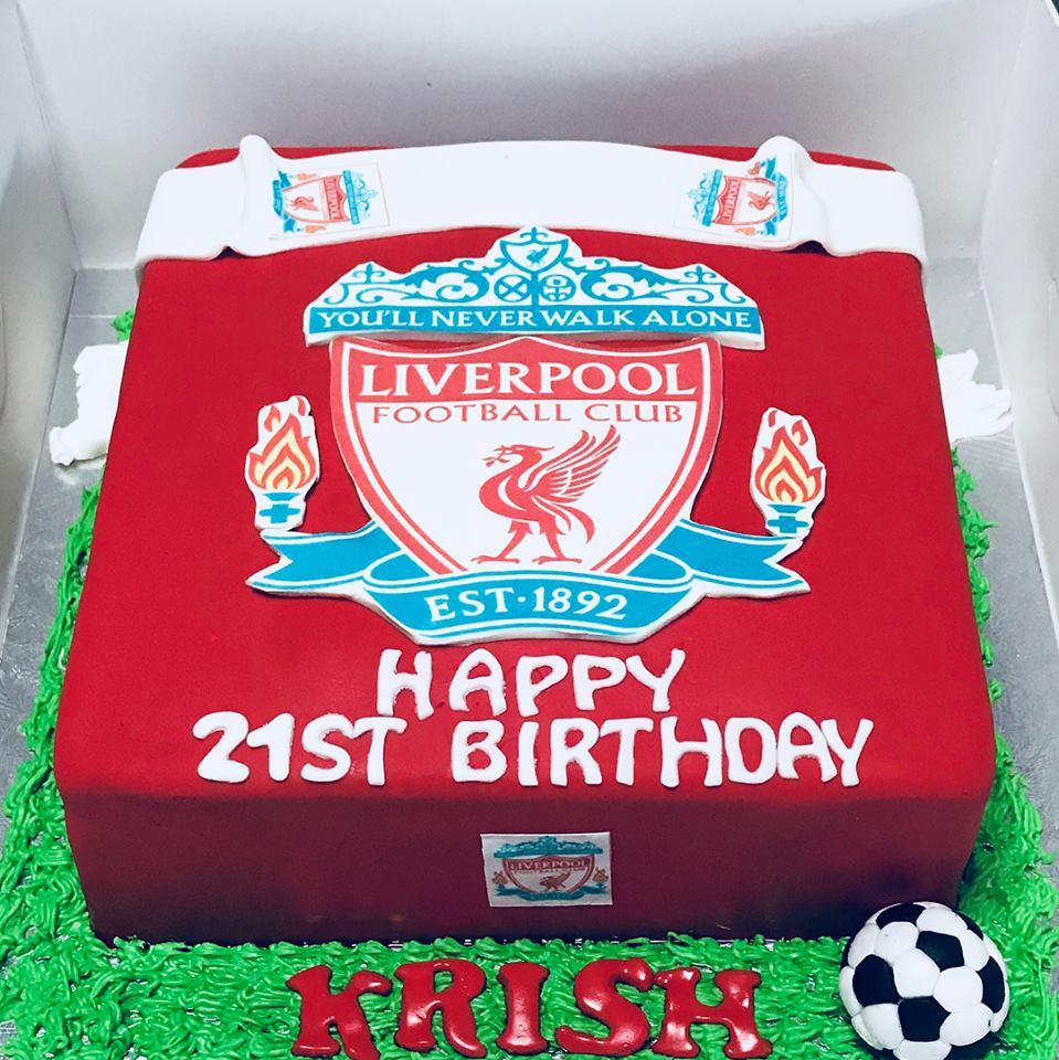 Izah's Kitchen: Liverpool Cake- Halal Cake Singapore