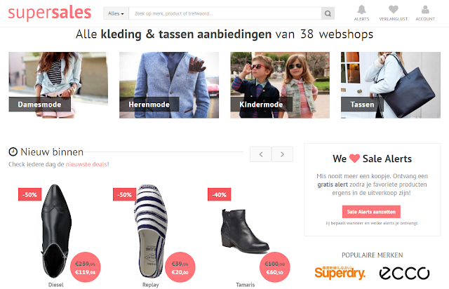 online shoppen tip supersales