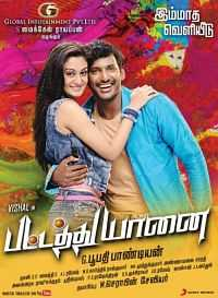 Pattathu Yaanai (2013) Hindi - Tamil Download 500mb HDRip