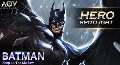 Build Item Terbaik Batman di Arena of Valor
