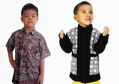 model baju batik anak laki laki