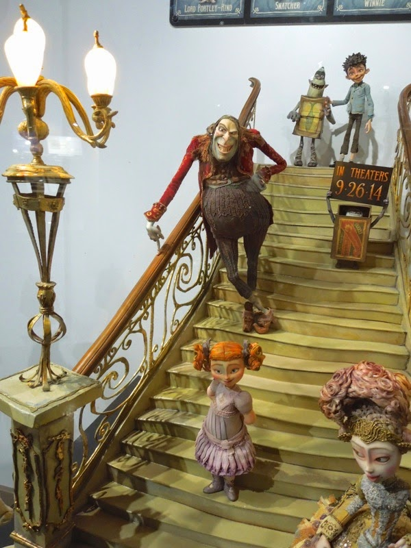 The Boxtrolls stop-motion character figures