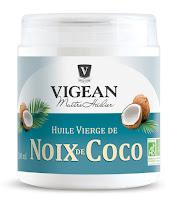 huile vierge de noix de coco - Vigean