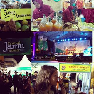festival jamu, fam trip jateng