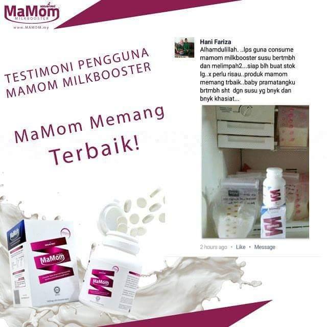 Penggalak Susu Ibu ,Mamom Milk Booster, Tips Tambah Susu Ibu, Diana Danielle , Saya Jual Mamom Milk Booster , Harga Mamon Milk Booster , Kandungan Mamom Milk Booster ,Produk Tambah Susu Dipercayai , Produk Tambah Susu Terbaik di Malaysia