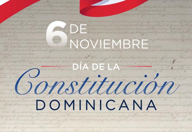 Hoy conmemoramos el 174 aniversario de la Constitución Dominicana