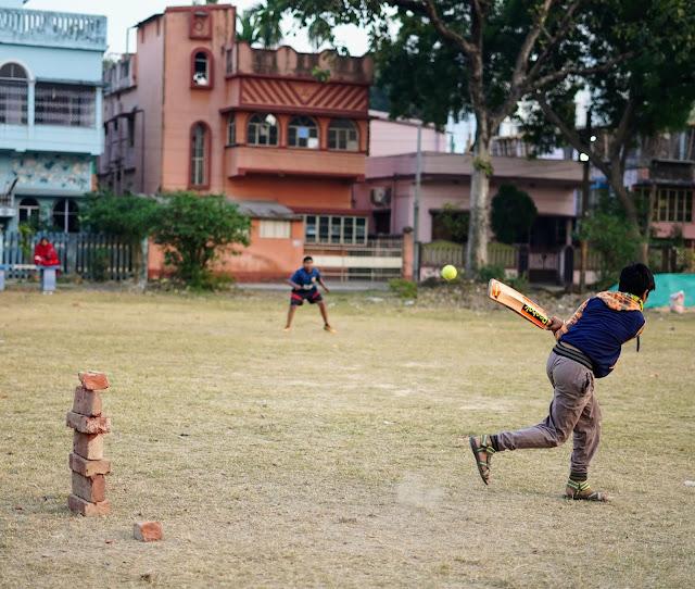 Nephew Rick Playing Cricket 6